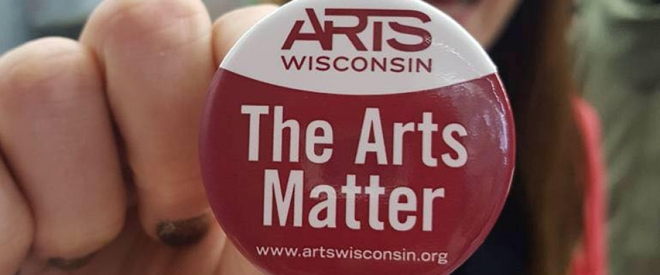 Now, more than ever, we need the arts for illumination, inspiration, understanding, and community. That's what Arts Wisconsin is all about.  Support the arts, culture and creativity throughout Wisconsin, by supporting Arts Wisconsin.  Many thanks!  https://www.razoo.com/us/story/Artswisconsin