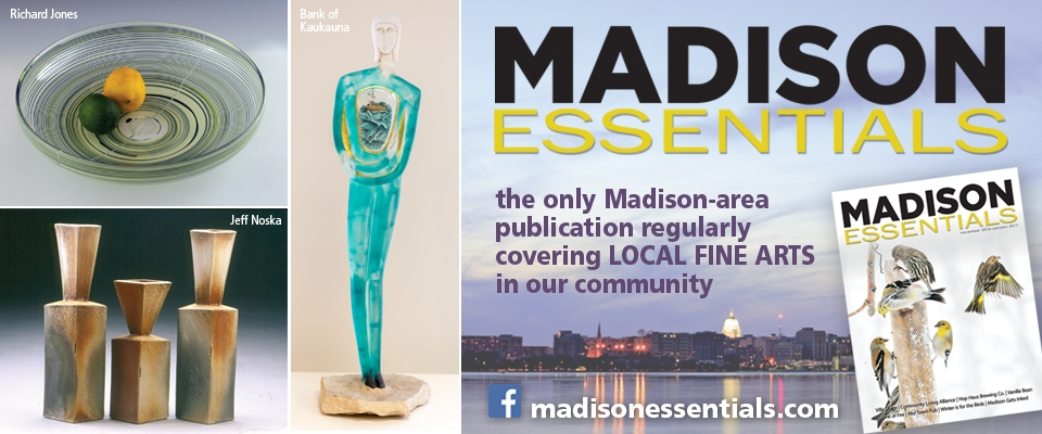 Thanks to Madison Essentials for their support of the arts in the Madison area and of Arts Wisconsin!  http://www.madisonessentials.com