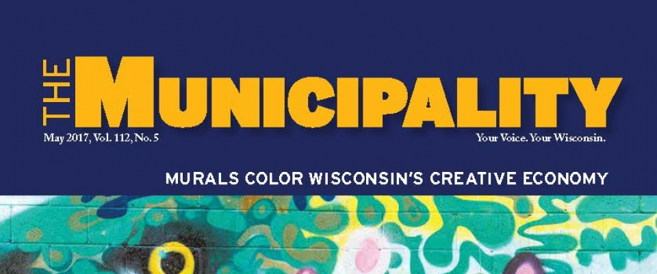 Check out the League of Wisconsin Municipalities's May