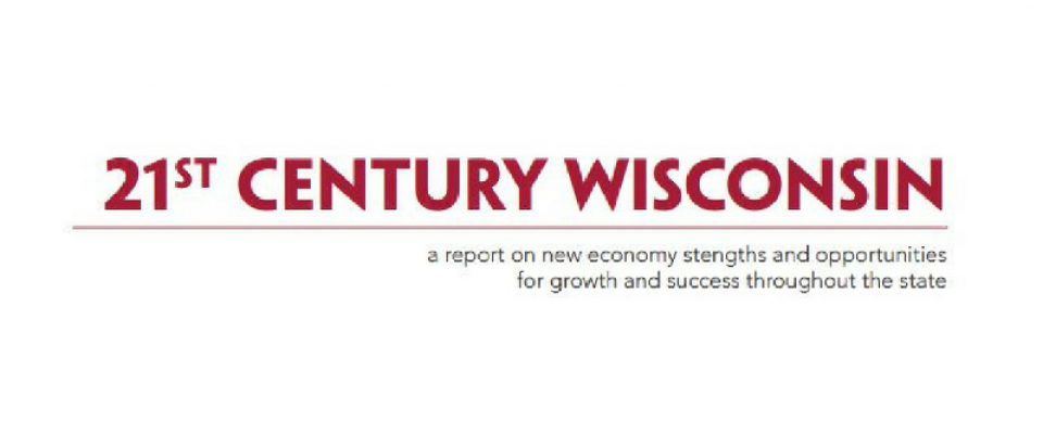 21st Century Wisconsin - a report recently produced by Arts Wisconsin and the League of Wisconsin Municipalities on opportunities for growth and success throughout the state.