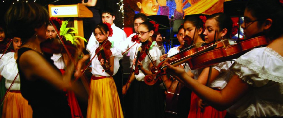 Latino Arts' Strings Program, Milwaukee
