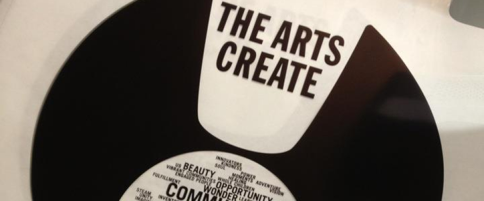 The arts create...jobs, opportunities, beauty, power, vibrant communities, unity...and so much more!